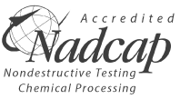 Accredited Nadcap - Nondestructive Testing Chemical Proccssing